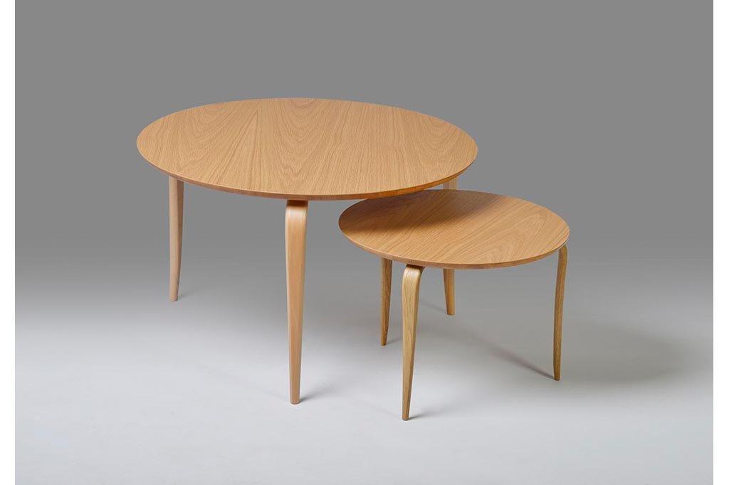 Annika Table, round + square, several sizes