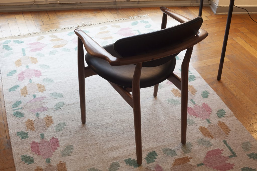 109 Chair, 1946, Walnut
