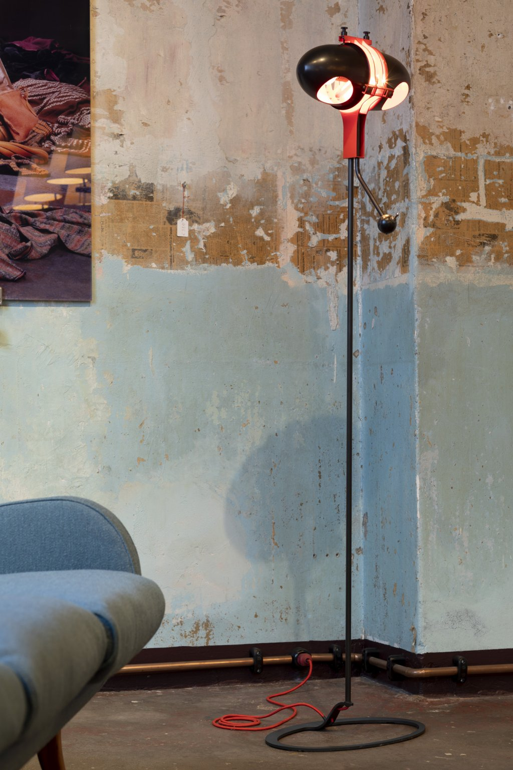 Floor Lamp Aimi by Konrad Friedel