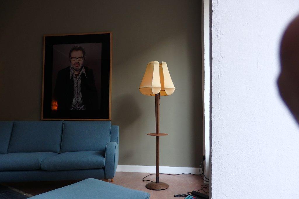 "Floorlamp ""Herta"" by Konrad Friedel, Vienna & Ernst Schwadron, Cold Spring, NY - lim. Edition of 12"