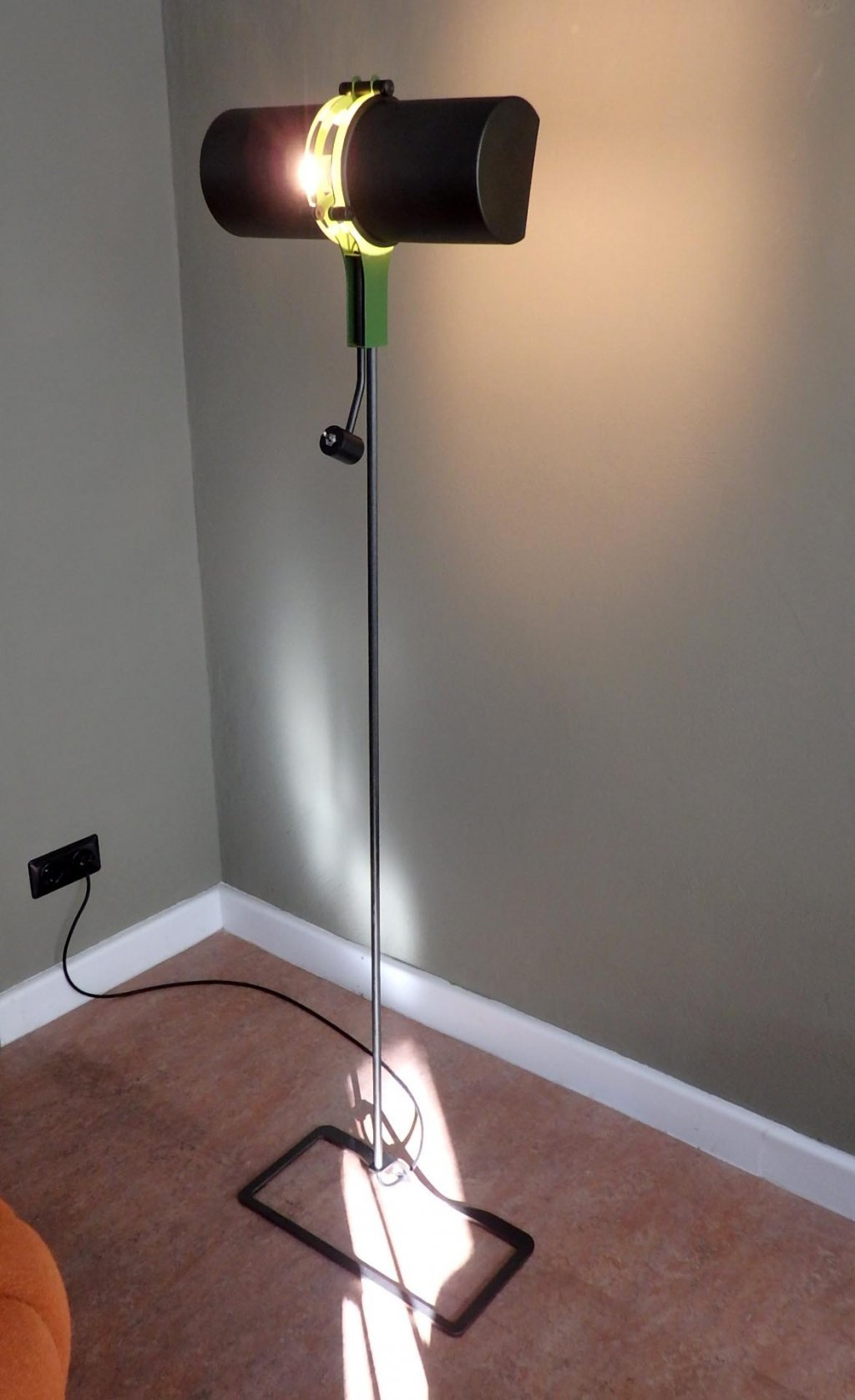 "Floorlamp ""Zylindra"" by Konrad Friedel, lim. Ediion of 6"