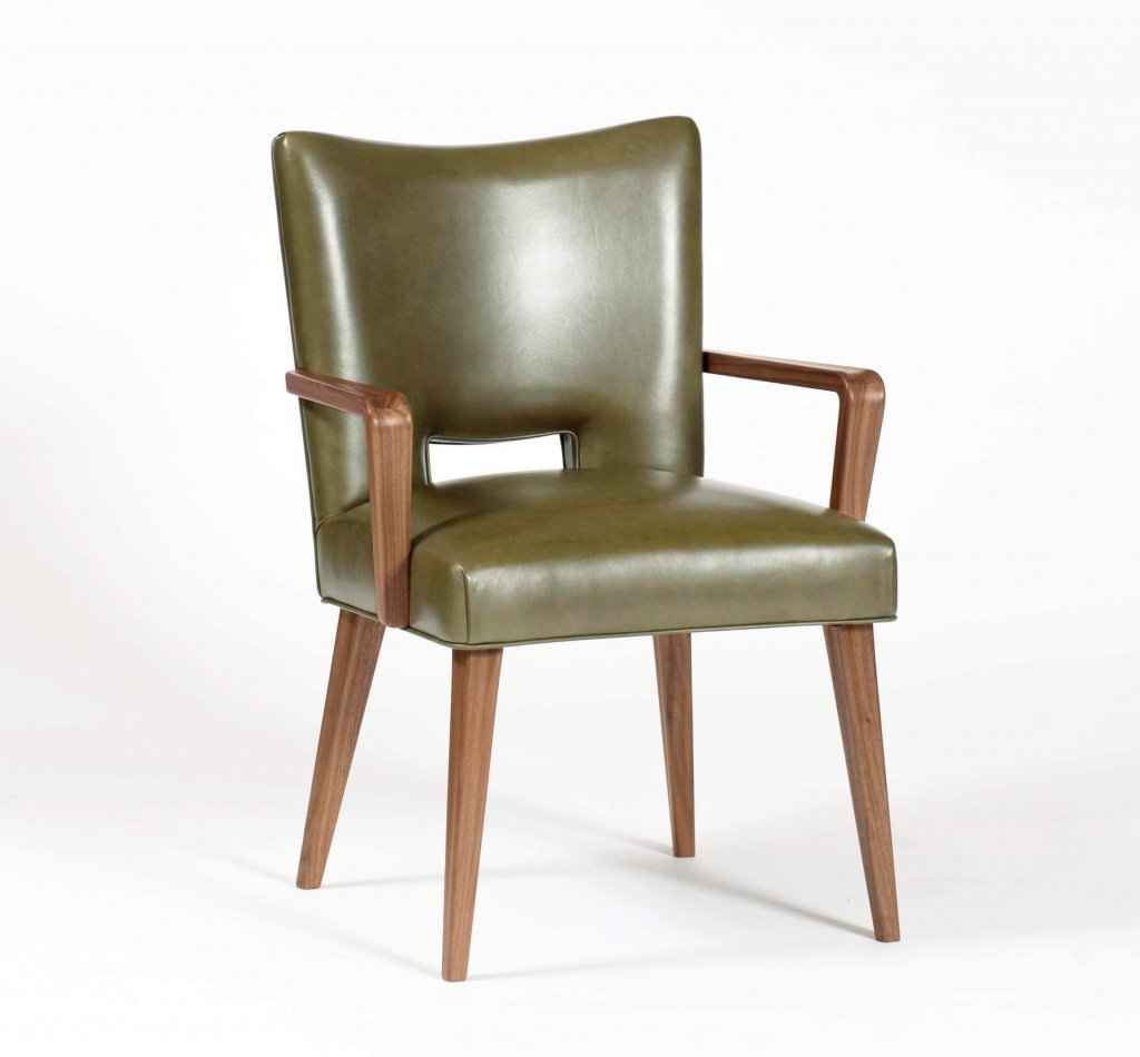 Dining Chair, Ernst Schwadron, 1946