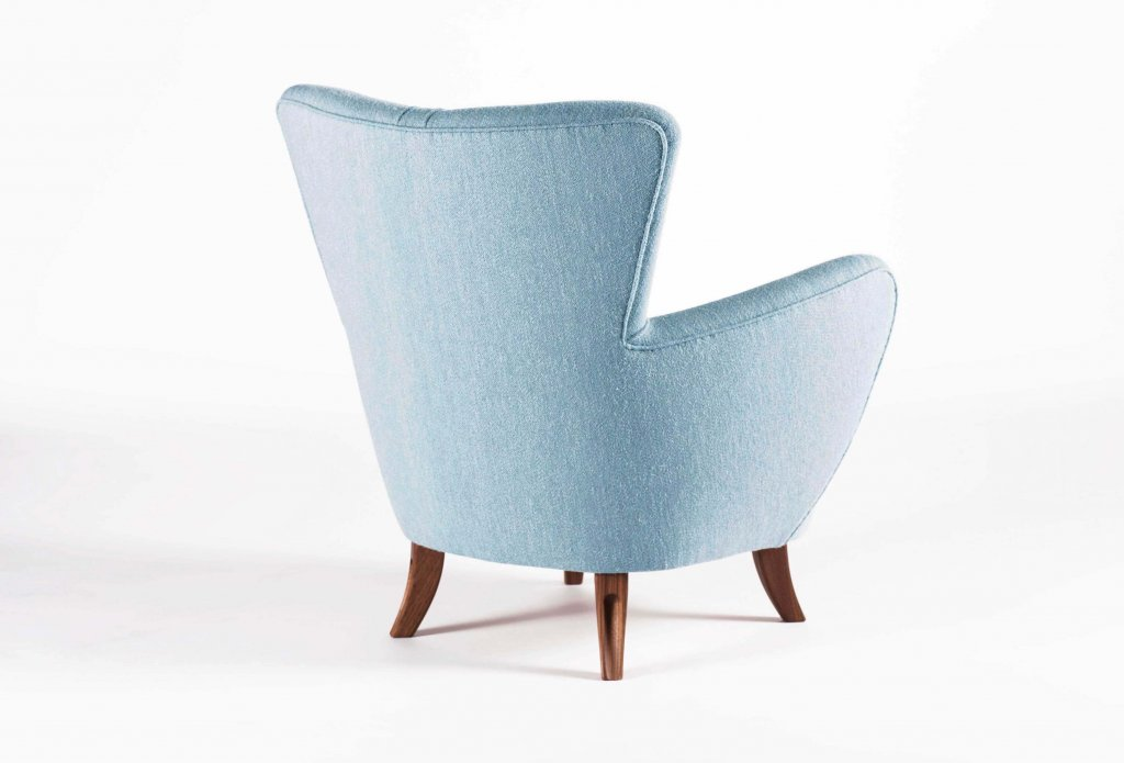 Easy Chair Ernst Schwadron, 1940s