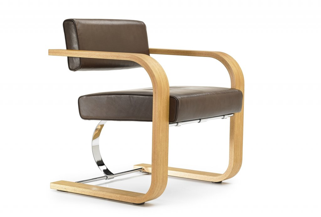 Cantilever Chair, Wood, 1942