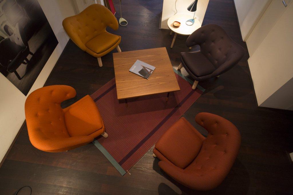 Pelican Chair, 1940, Fabric: Vils, Hanne Vedel