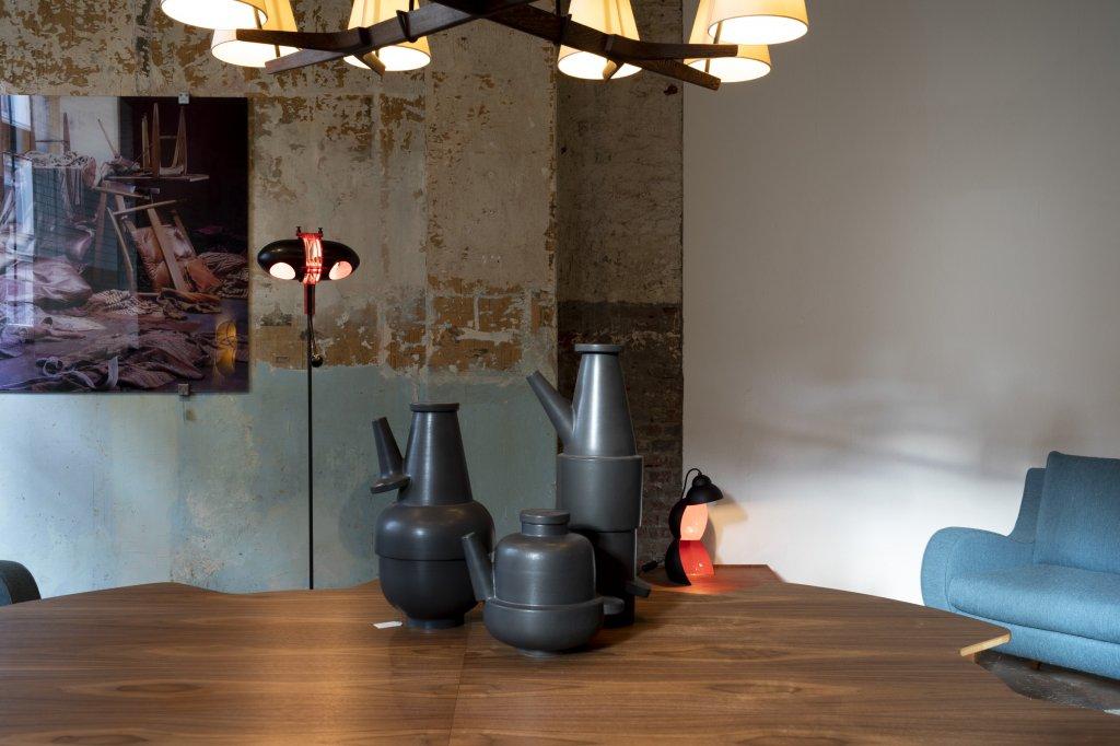 Floor Lamp Aimi + Table Lamp ST43