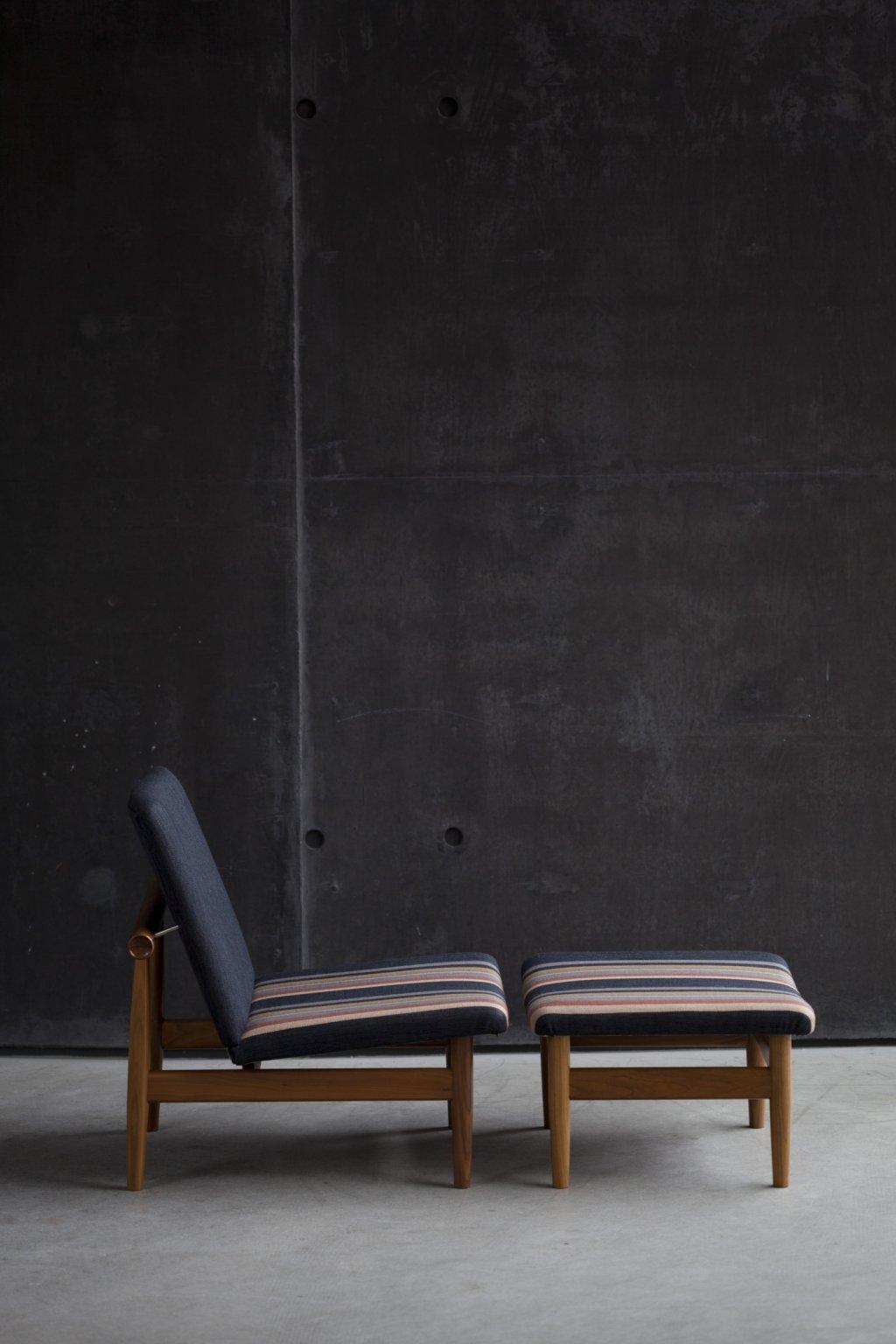 Japan Chair + Footstool