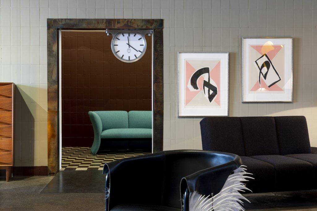The Ceiling Clock, edition: 30, timepiece, solid aluminium,produced by AB M&E Ohlssons Klockgjuteri & Glen Baghurst, designed by Glen Baghurst