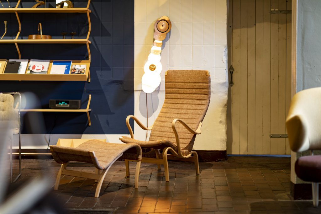 Bruno Mathsson collection in our showroom