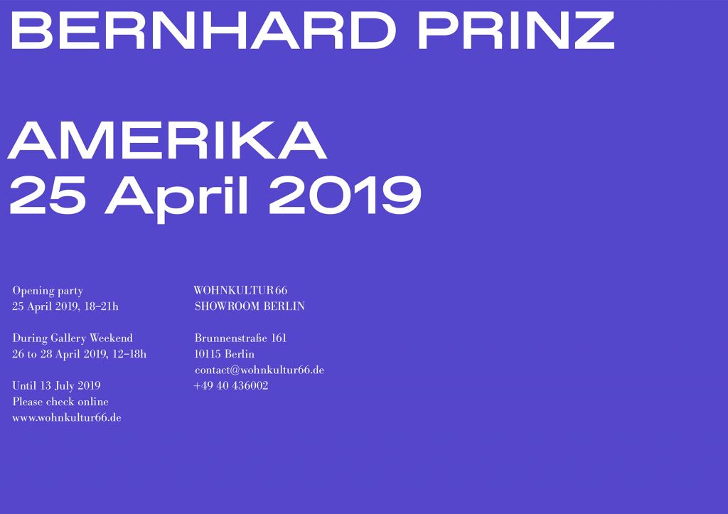 Bernhard Prinz - Amerika