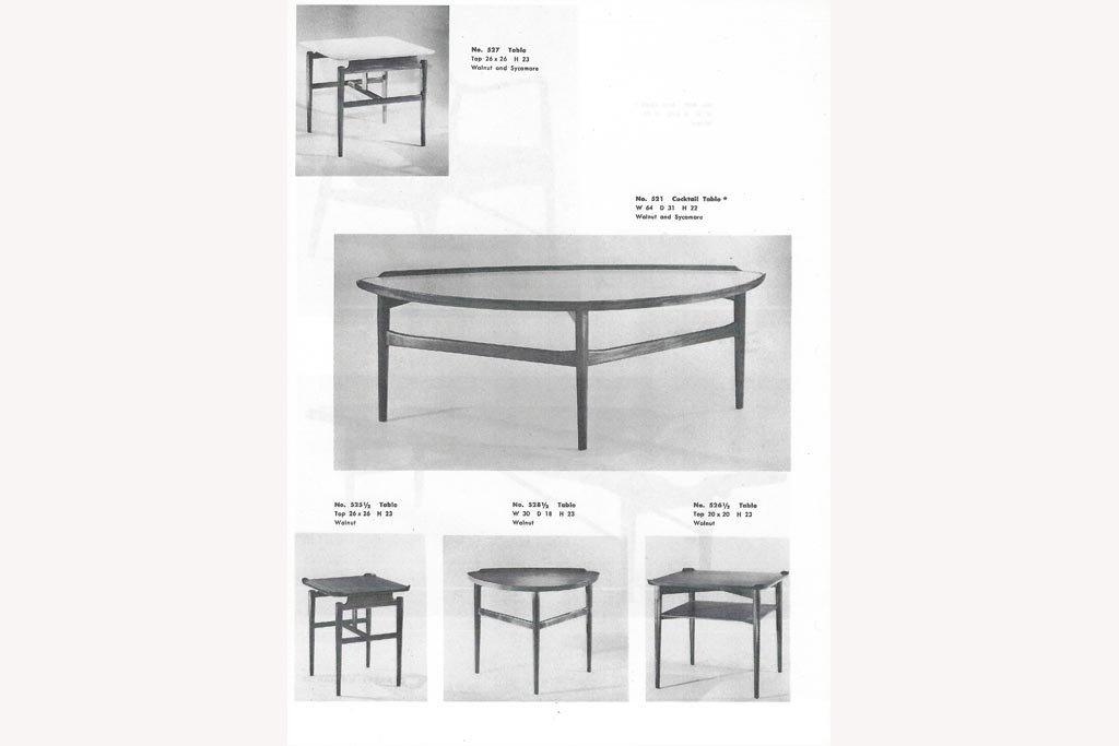 for Finn Juhl fans only: BAKER Modern 50's catalogue no. 2
